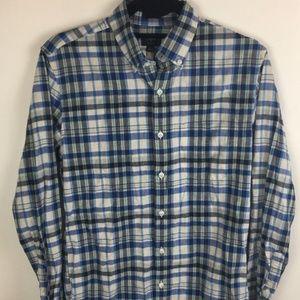 J. Crew Slim Plaid Homespun Shirt